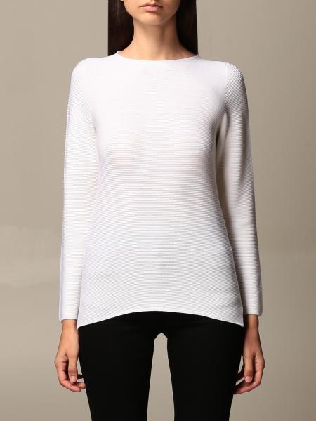 Gran Sasso: Gran Sasso crew neck sweater in virgin wool