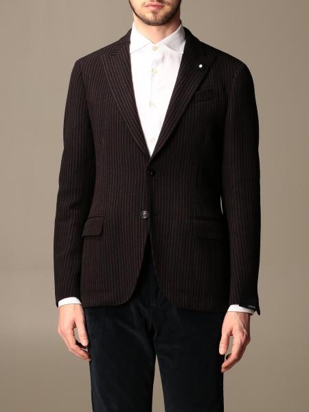 Blazer a monopetto Lardini in misto lana