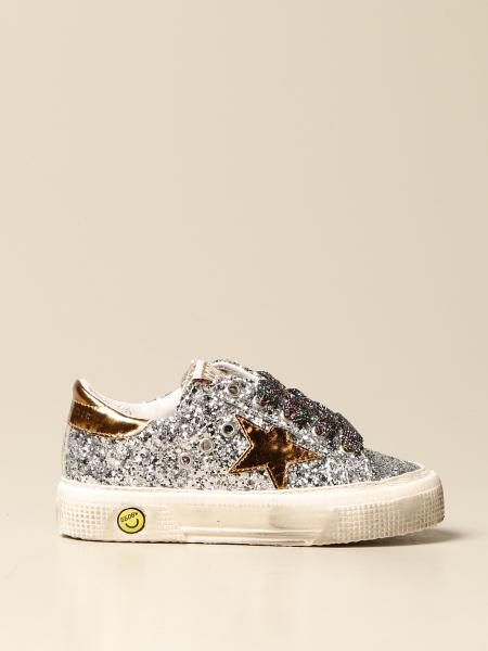 Golden Goose bambino: Sneakers May Golden Goose glitter