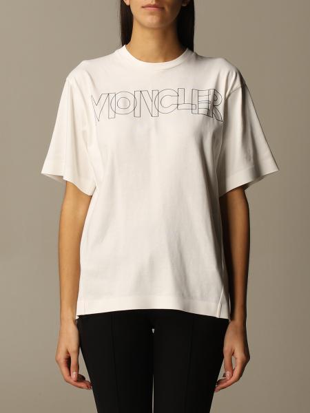 Moncler: T-shirt Moncler a maniche corte con logo