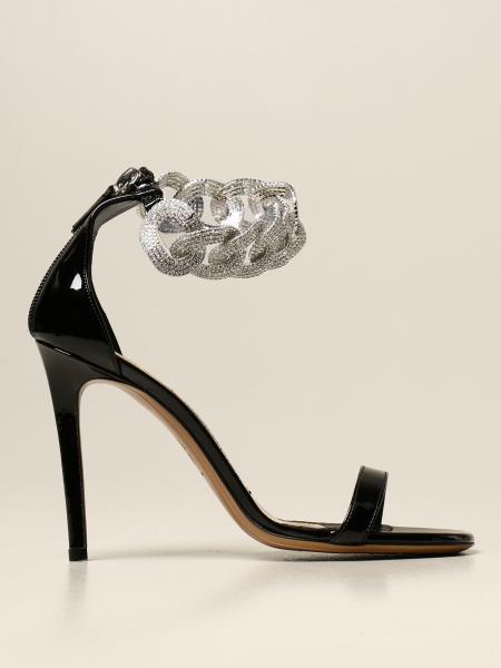 Alexandre Vauthier patent leather sandal