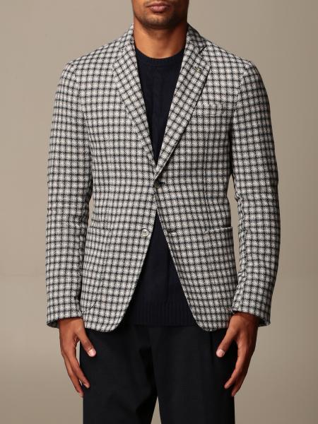 Havana & Co.: Havana & Co. single-breasted jacket in cotton blend
