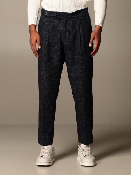 Havana & Co.: Havana & Co. trousers in wool and cotton blend