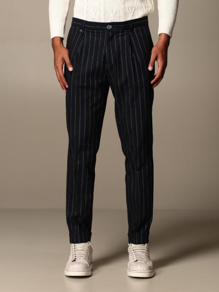 Havana & Co.: Pantalone Havana & Co. gessato