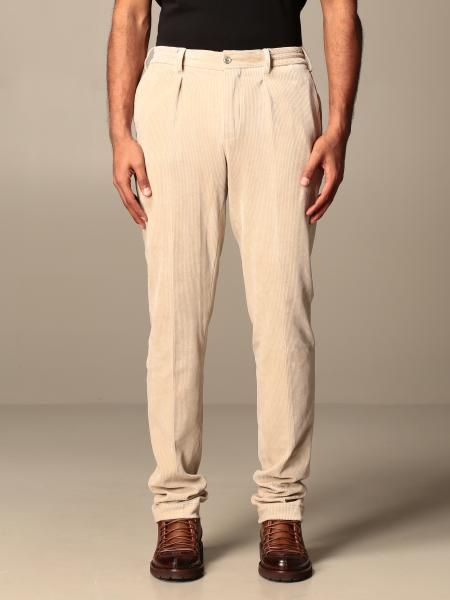 Classic Pt ribbed trousers