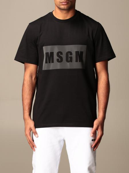 T-shirt men Msgm