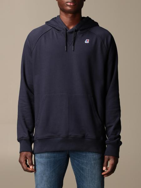 K-Way men: K-way hooded sweatshirt with logo