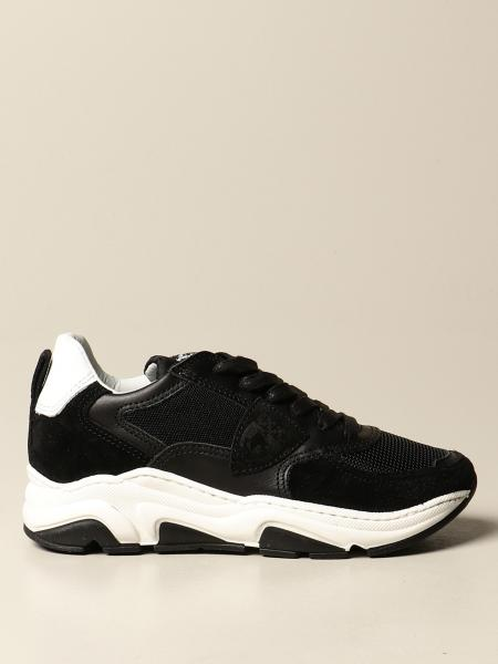Philippe Model: Philippe Model sneakers in leather and mesh