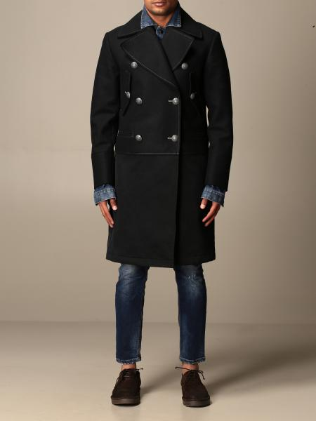 Dondup double-breasted coat