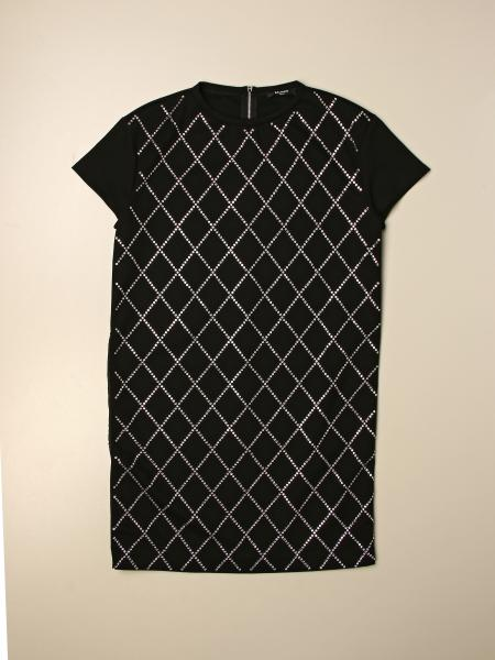 Balmain: Balmain diamond short dress