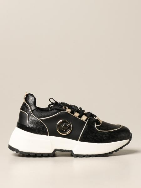 Michael Michael Kors sneakers in leather with MK logo