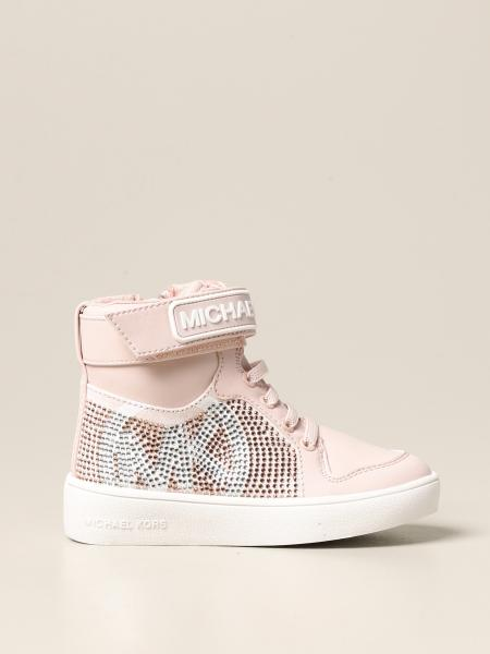 Michael Michael Kors sneakers in synthetic leather and rhinestones