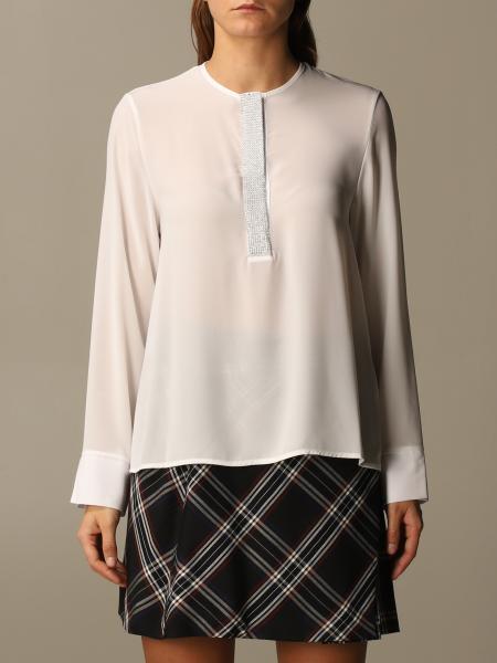Basic Kaos blouse with jewel detail