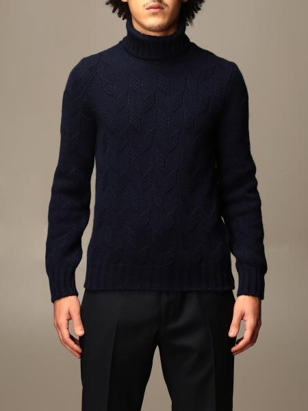 Gran Sasso: Gran Sasso turtleneck in textured wool