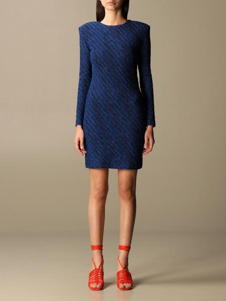 Simona Corsellini: Simona Corsellini short lurex dress