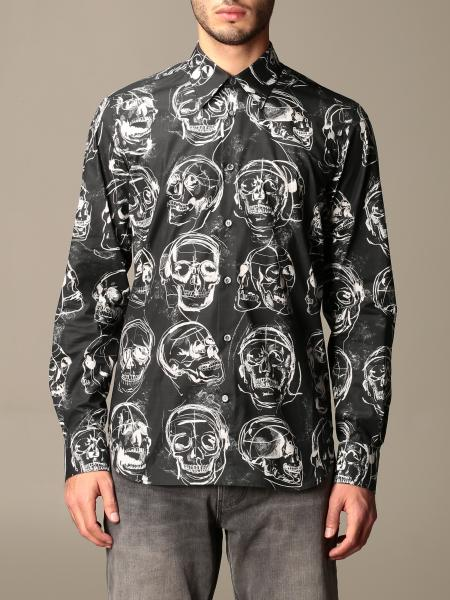 Alexander McQueen shirt with all over skulls