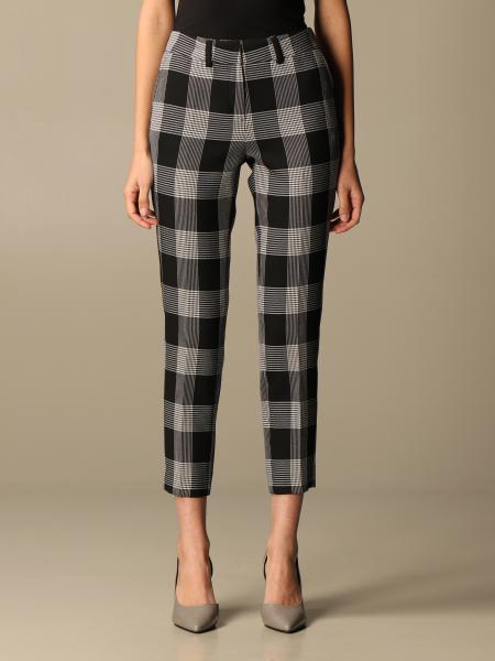 Simona Corsellini checked trousers