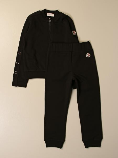 Moncler sweatshirt + trousers set with logo