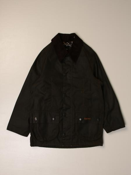 Barbour jacket with patch pockets
