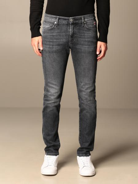 Roy Rogers: Roy Rogers jeans in used denim with 5 pockets