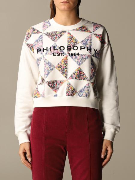 Sweatshirt damen Philosophy Di Lorenzo Serafini