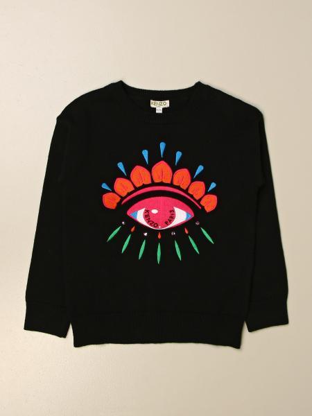 Kenzo kids: Kenzo Junior crewneck sweatshirt with logo