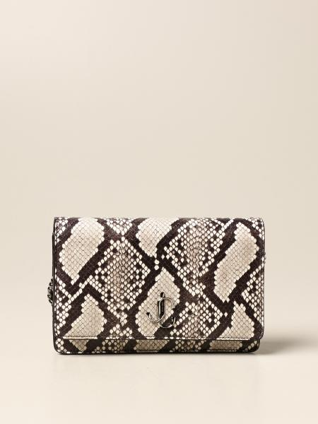 Palace Jimmy Choo bag in leather with python print