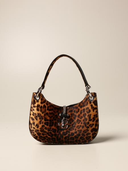 Varenne Jimmy Choo bag in animalier pony skin