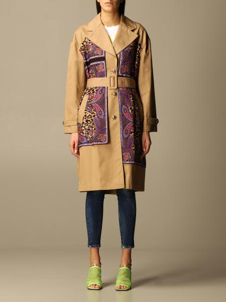 Versace Jeans Couture coat in cotton blend