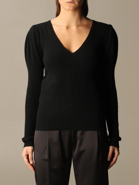 D.exterior: V D. exterior cashmere sweater