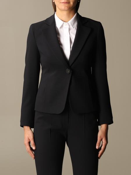 Emporio Armani basic single-breasted blazer