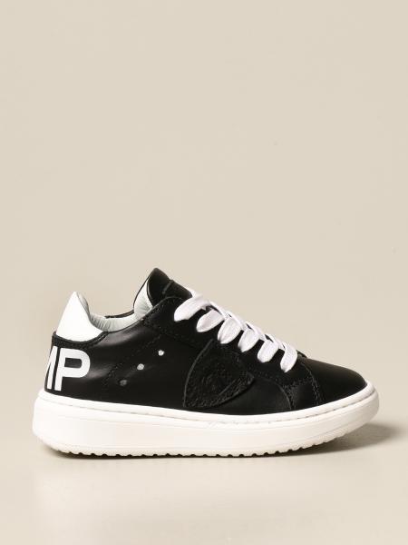 Philippe Model: Sneakers Philippe Model in pelle