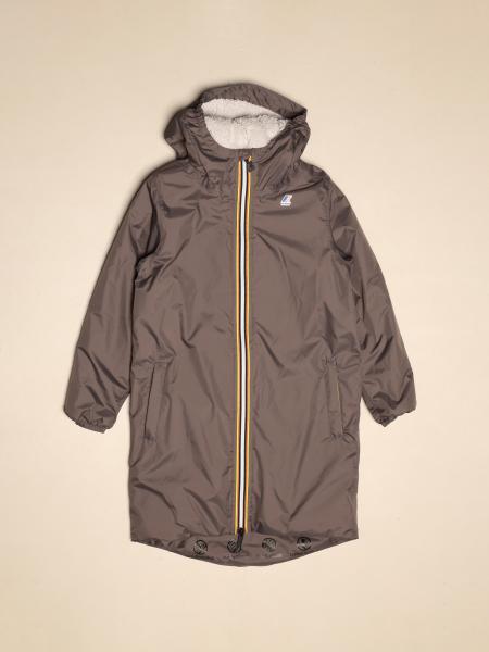 K-way sports jacket with zip and hood