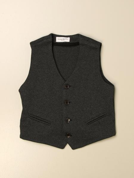 Paolo Pecora single-breasted waistcoat in cotton blend