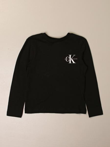 Calvin Klein long-sleeved T-shirt with logo