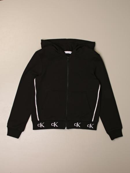 Calvin Klein sweatshirt with hood and zip