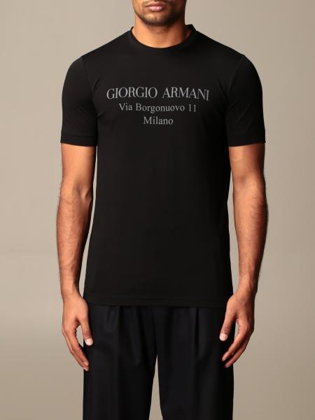 Giorgio Armani men: Giorgio Armani T-shirt with logo