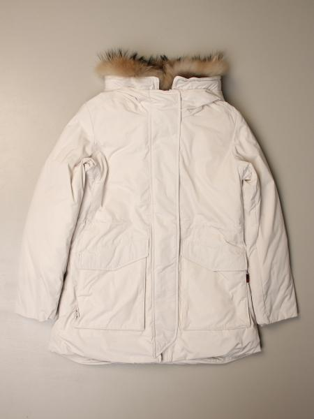 Woolrich jacket with hood and fur edges