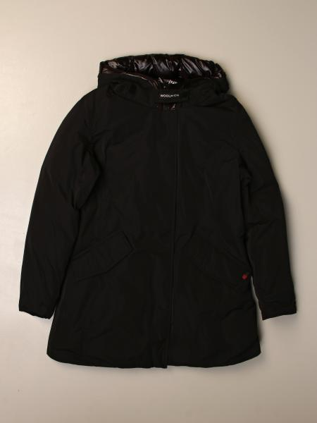 Reversible Woolrich jacket with hood