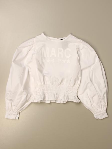 Camicia Marc Ellis a girocollo con logo
