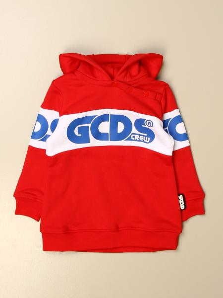 Gcds kids: Gcds sweatshirt dress with contrasting band