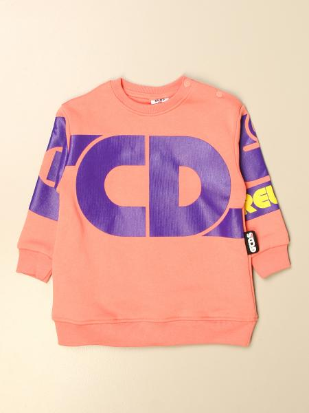 Gcds kids: Gcds crew neck dress with big logo