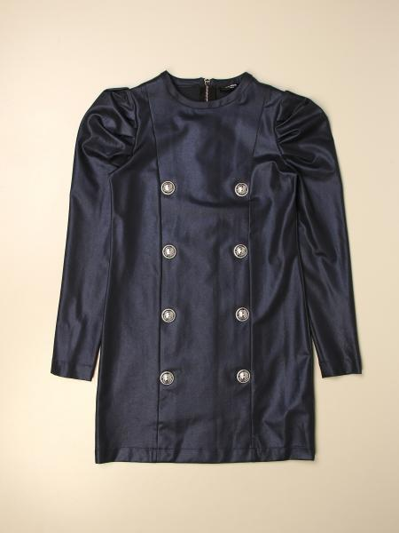 Balmain short dress with buttons