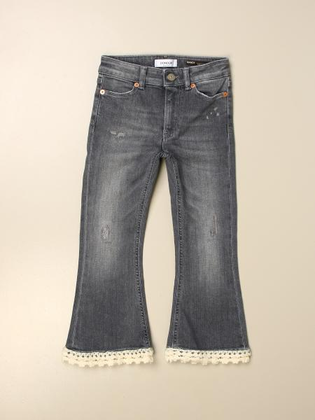 Dondup jeans with embroidered edges