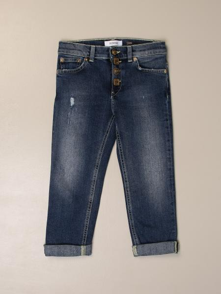 Dondup jeans in used denim with tears