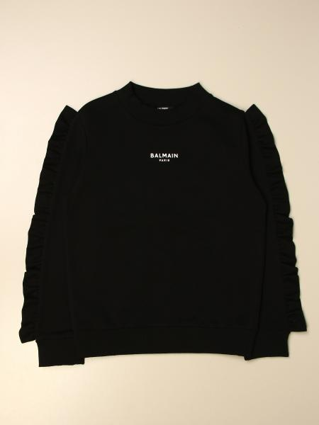 Balmain crewneck sweatshirt with logo