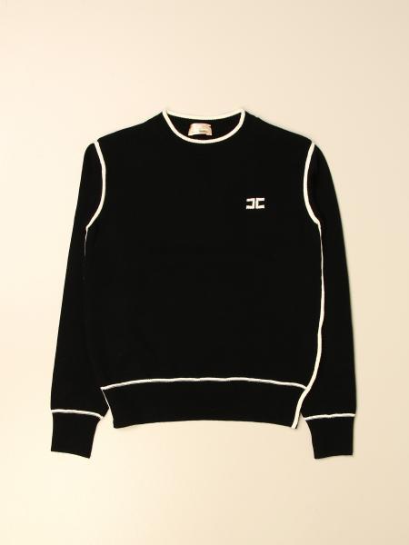 Elisabetta Franchi kids: Elisabetta Franchi crewneck sweater with logo