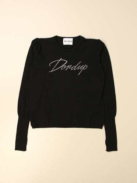 Dondup crewneck sweater with logo