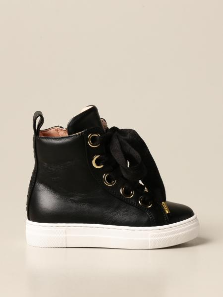 Elisabetta Franchi sneakers in leather