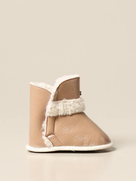 Elisabetta Franchi kids: Elisabetta Franchi ankle boot in synthetic sheepskin